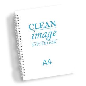 Spirálový zápisník do čistých prostor A4