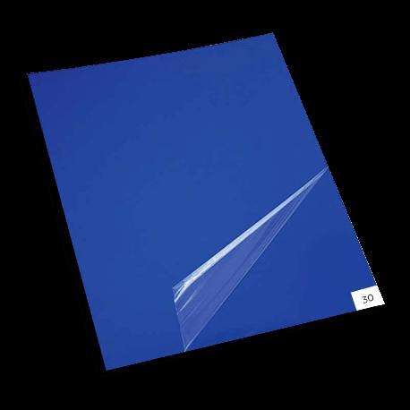 Vícevrstvá lepící rohož FlexMat - modrá. 30 vrstev
