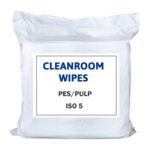 Utěrky pro čisté prostory PES/PULP