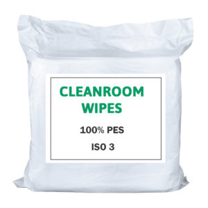Cleanroom wipes 100% PES