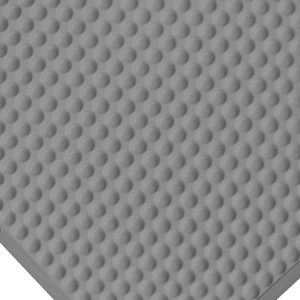 Rohož pro čisté prostory Bubble mat - šedá