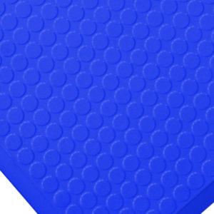 Ergonomická rohož pro čisté prostory - modrá